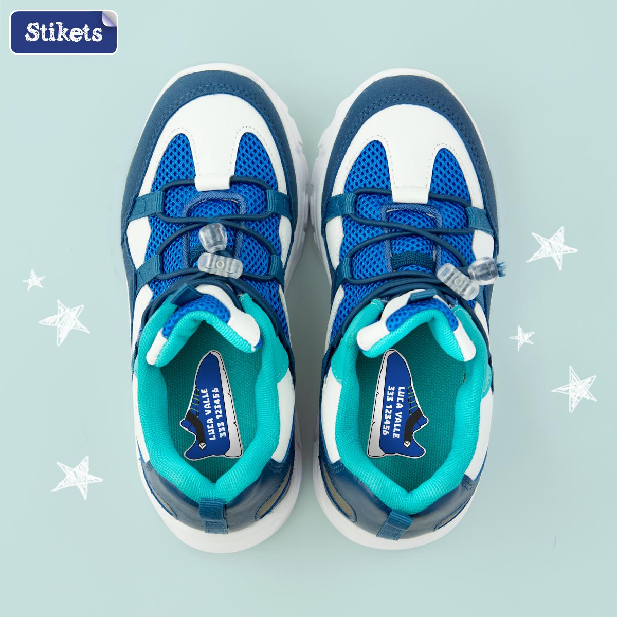 Etichette scarpe