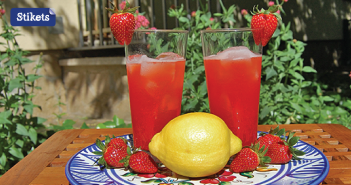 Limonata con fragole