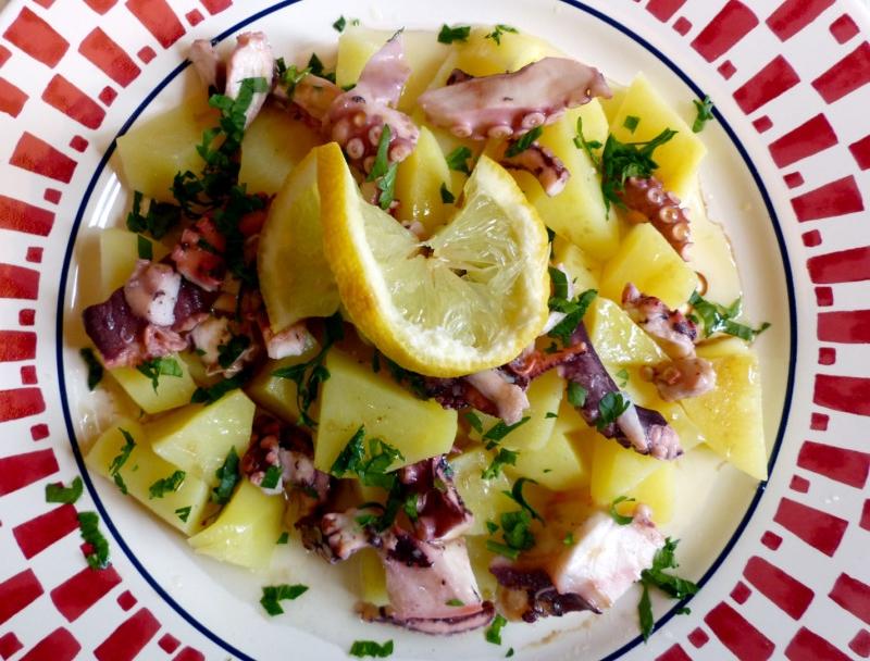 Insalata polipo e patate