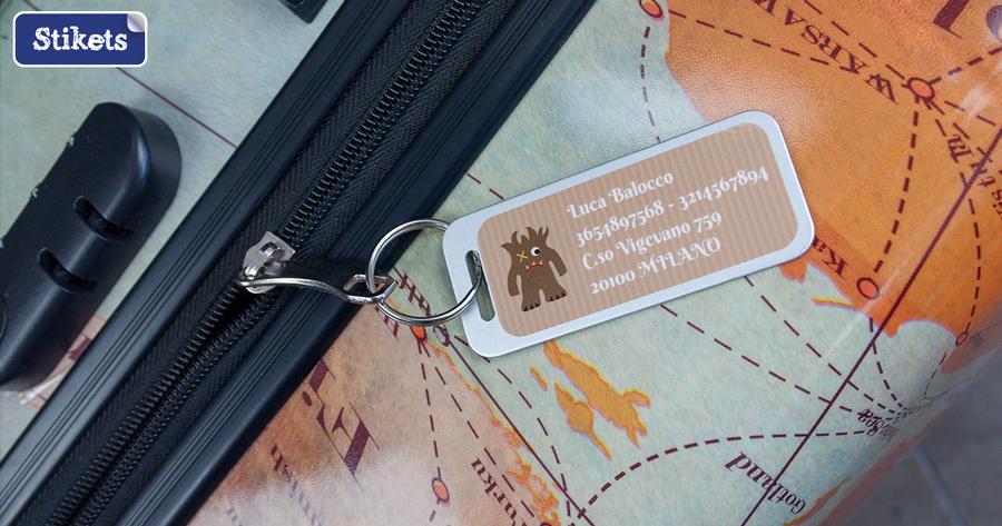 Etichette per bagagli Stikets