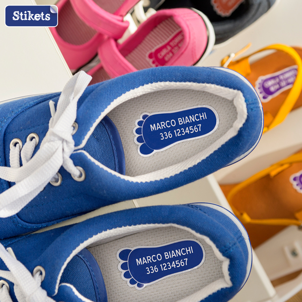 Etichette scarpe Stikets