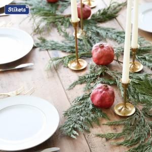 Centrotavola natalizio con frutta