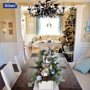 Per un look rustico al tuo tavolo a dicembre