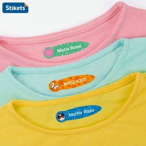 Etichette per vestiti