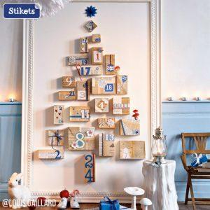Un albero di Natale improvvisato