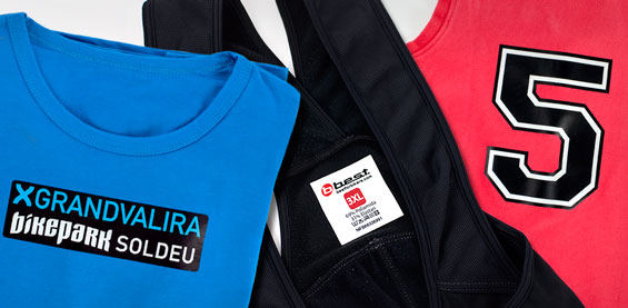 Crea Etichette termoadesive su misura con il tuo logo o disegno!