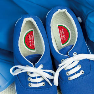 Etichette per scarpe destra / sinistra