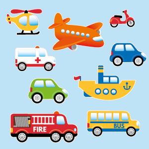 Adesivi Mezzi di trasporto