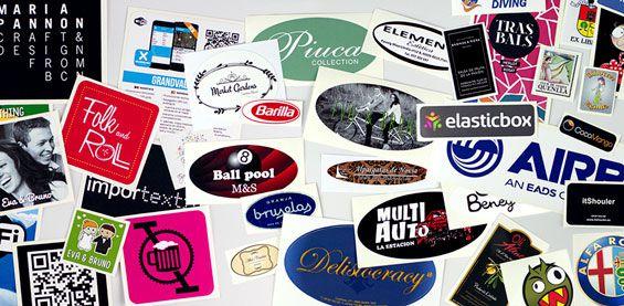 Crea adesivi con il tuo logo o disegno!