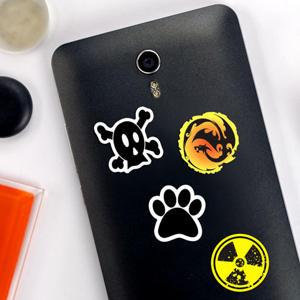 Adesivi Simboli per cellulare