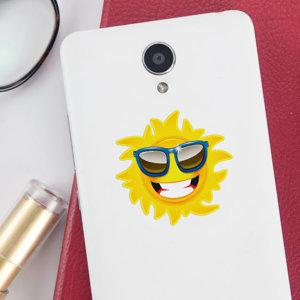 Adesivi Sole per cellulare