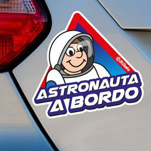 Astronauta a bordo