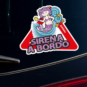 Sirena a bordo